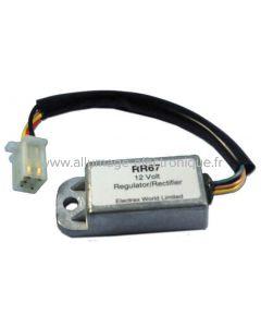 RR67 - Regulateur rectifieur  -  Honda: MTX125, MTX250, XL100, XL125R, XL200R, XL250R, XL250S, XL350R