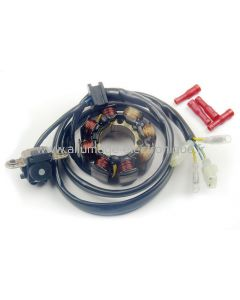 Stator d'allumage + eclairage - Honda CRF150F (2003-2014) CRF250 (04-09), CRF450 (01-08) - ST1495L