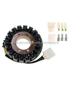 Stator alternateur Honda RVF750R, VF750C, V45 Magma, VFR750 800FI, CBR900RR, CB1100, CBR1100XX - G52