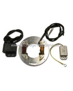 Kit allumage + éclairage Yamaha TY250 - Majesty - DT400B - Utilise le rotor d'origine - STK402L
