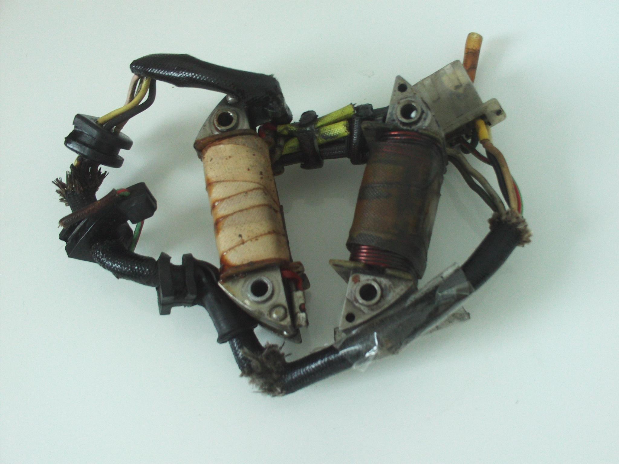 réparation stator honda xl250